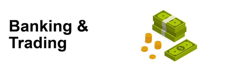 Banking and Trading Title Image