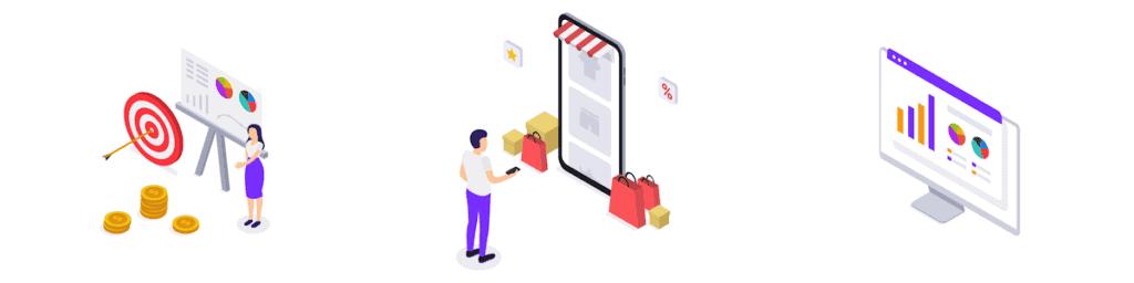 Our Services - Marketing Impact Measurement Illustration